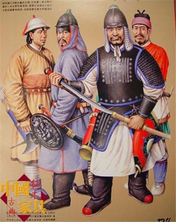 3元朝武士们用铁骑征服了世界