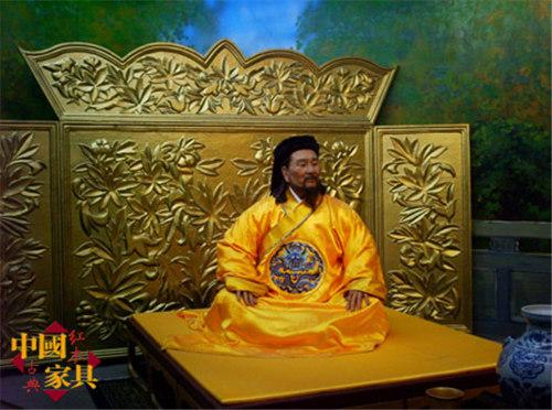 4元世祖忽必烈蜡像 (2)