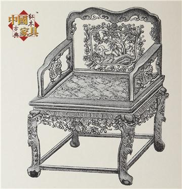 12广式家具鹿鹤同春公座椅