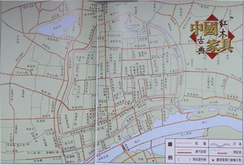 16清代广州豪门富贵之家的厅堂陈设。(朱方刚 摄影)