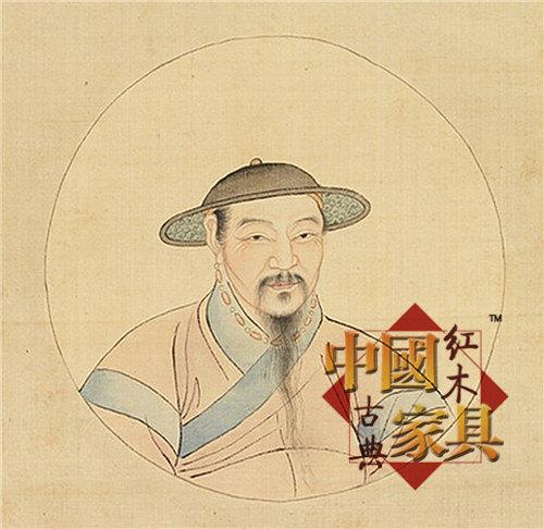 8、赵孟钴自画像_副本