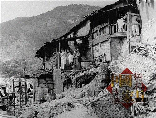 1950年的香港调景岭旧照_副本