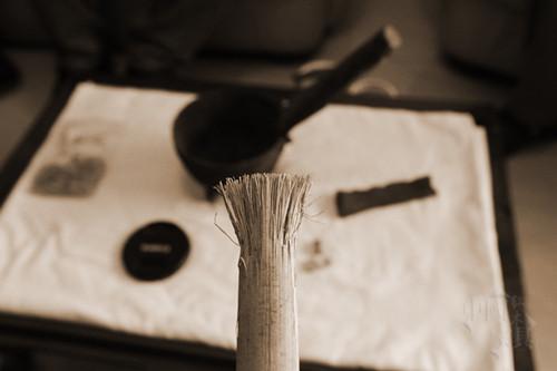开锅鳔2   使鳔得用这样的藤条刷,刷头是砸出来的_副本_副本