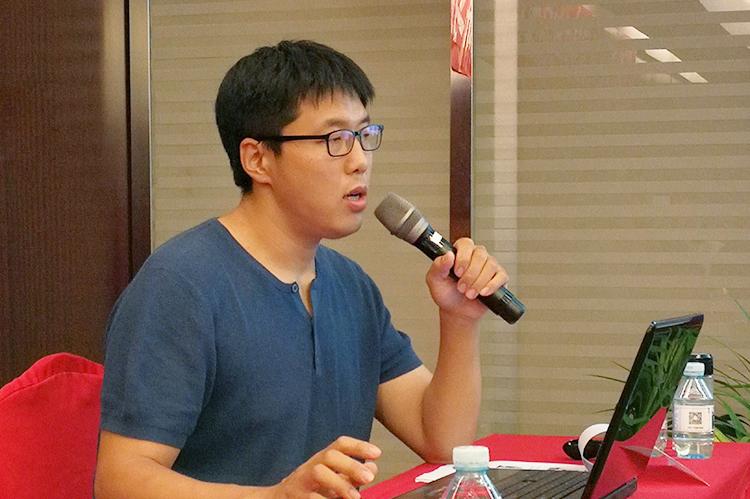 5故宫博物院刘恺老师在授课